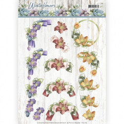 CRAFT & YOU DIE - Frames Set And Flower 1 - CW041