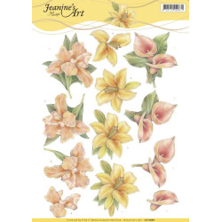 Doortjes Design - Flowers & Butterflies - CD11078