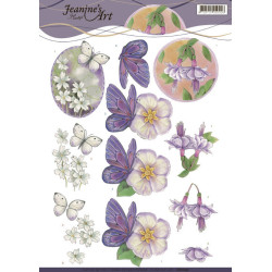 Precious Marieke - Timeless Flowers - Frame Layered Dies - PM10124