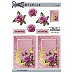 Nellie Snellen - Clear Stamps - Silhouet - Flowers-17