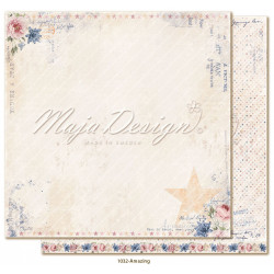 Docrafts - Papermania - Paper Pack 12x12 - Mr Mister