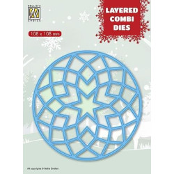 Amy Design - Christmas Wishes - Snowflake Borders - ADD10150