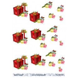 Dixi Craft - Clear Stamp - Christmas Sock - STAMPL028