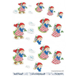 Dixi Craft - Clear Stamp - Ho Ho Ho - STAMPL033