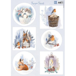 Craft Perfect - Speciality Card Pack - December Skies