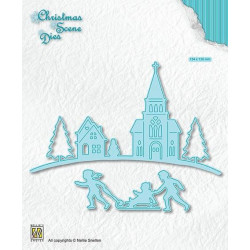 Crafters Companion - Neenah Classic Crest Card - Hvid A4