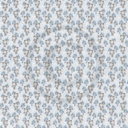 Dixi Craft - Papirblok - Watercolour Background - Grey - PPL018