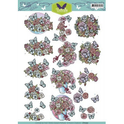 Docrafts - Papermania - Adhesive Stones (104pcs) - Capsule - Heather