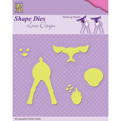 Docrafts - Papermania - Adhesive Stones (104pcs) - Pale Lilac