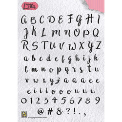 Leane Creatief - Clear stamp -  Christmas & New Year Greetings