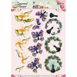 Dixi Craft Dies - Peek A Boo - Circle ( 5 pcs) - MD0062