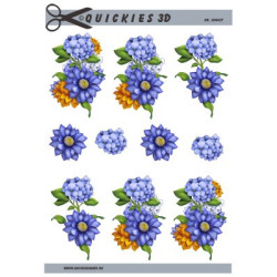 Clear stamps - Silhouet - Flower 10