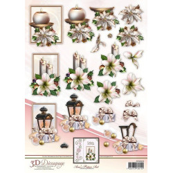 Sizzix - Tim Holtz - Thinlits Die Set - Script Upper & Lower 69PK - 662228