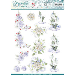 Sizzix - Tim Holtz - Thinlits Die Set - Flower Jar 23PK - 662270