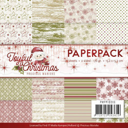 Card Deco - Designer Sheets - Christmas Edition - Julerød