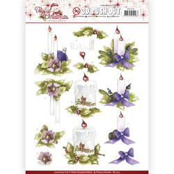 Card Deco - Designer Sheets - Christmas Edition - Blad grøn