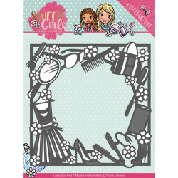 DIXI CRAFT - CLEARSTAMP - Sketch – Oval - STAMP0098