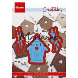 MARIANNE DESIGN - Collectables stencil - Eline's Outfits - COL1438