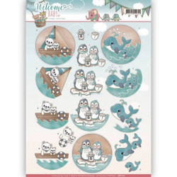 Amy Design - Vintage winter - Winter Flowers - CD10985
