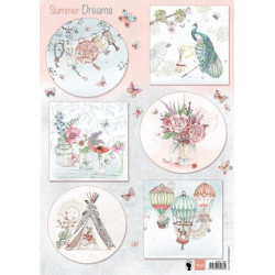 Precious Marieke - Early Spring - Spring Flowers Oval label - PM10114