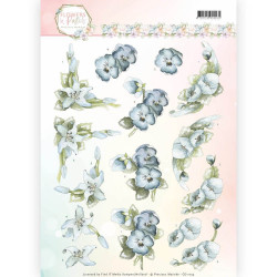Leane Creatief - Flower foam assortment set 6 white - green