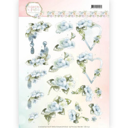 Leane Creatief - Flower foam assortment set 4 yellow