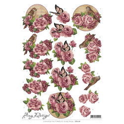 Amy Design - Flowers - CD11126