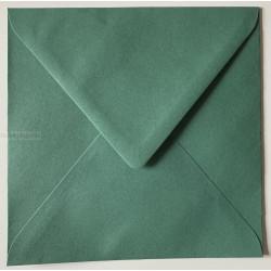 Kuverter 14x14 cm - Mørke Grøn