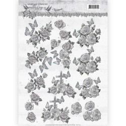 MARIANNE DESIGN - EMB. FOLDER - DF3446 - Blossom