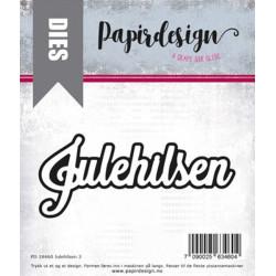 Papirdesign - Julehilsen 3...
