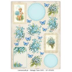 Jeanines Art - Vintage Flowers - Vintage Foliage - JAD10037