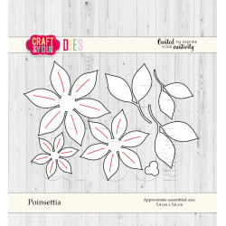 Craft & You - Poinsettia -...