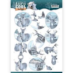 Marianne Design - Creatables - Willow cats & Birdhouse - LR0515