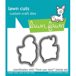 Lawn Fawn - Love You Tons -...