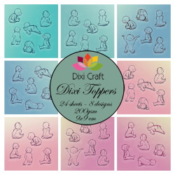 Dixi Craft - Toppers - ETL019