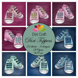 Dixi Craft - Toppers - ETL020