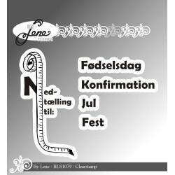 By Lene - Stempel - Dansk...