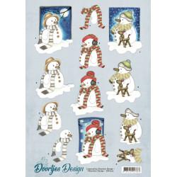 Doortjes Design - Snowmen -...