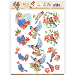 Leane Creatief - embossing folder - Gentlemen