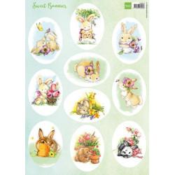 Sizzix - Tim Holtz - Thinlits Die - Funky Florals 2 - 662701