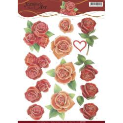 Jeanine' Art - Roses - CD11091