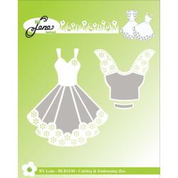 By Lene - Dress - BLD1140