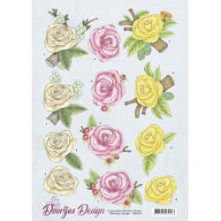 Doortjes Design - Roses -...