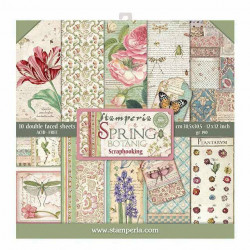 Stamperia - Spring Botanic...