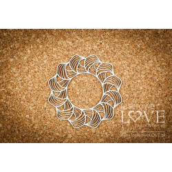 Laserowe LOVE - Chipboard -...