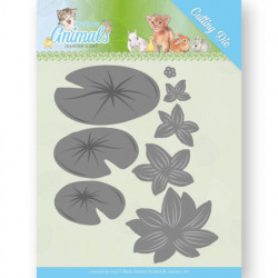 Jeanine's Art - Young Animals - Lily Pond Leaves - JAD10069