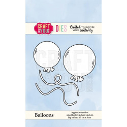 Craft & You - Balloons - CW067