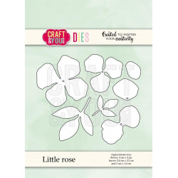 Craft & You - Little Rose -...