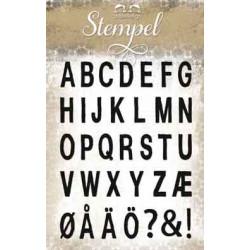 Papirdesign - Stempel - ABC...