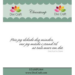 Dixi Craft - Stempel -...